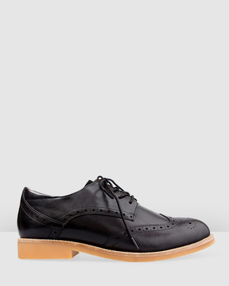 Bared Footwear - Women's Black Flats - Courser Flat Lace Ups - Women's - Size One Size, 35 at The Iconic