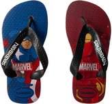 Havaianas Top Captain America + Iron Man Sandals Boys Shoes