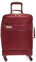 Flight 001 Avionette 19 Inch Rolling Carry-On Suitcase - Burgundy