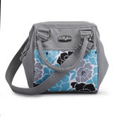 LILLYBIT LillyBit Blue Floral Day-Pack Diaper Bag