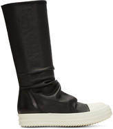 Rick Owens Black Sock Boots