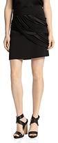 Halston Strapped Mini Skirt