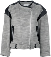 IRO 'Jake' panelled biker jacket