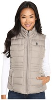 U.S. Polo Assn. Quilted Vest with Sherpa Lining