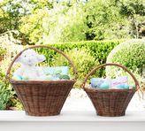 Pottery Barn Natural Sabrina Collapsible Handle Easter Basket