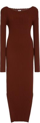 Totême Orville Rib-Knit Midi Dress