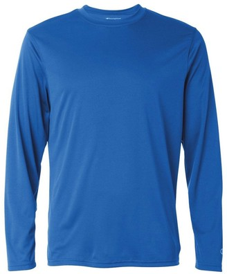 Champion Men's Long Sleeve Double Dry Performance T-Shirt