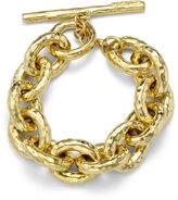 Ippolita 18k Hammered Bastille Link Bracelet