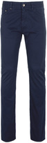 Boss Maine3 Navy Regular Fit Twill Cotton Jeans