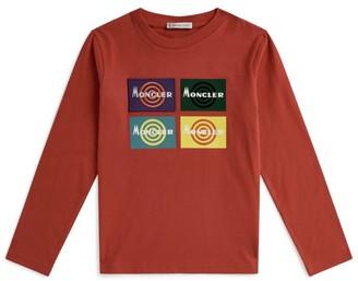 Moncler Kids Logo Cotton T-Shirt (8-10 Years)