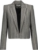 IRO Toni cropped metallic wool-blend blazer