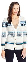Pendleton Women's Stripe Cardi Sweater