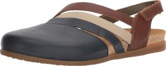 El Naturalista Women's NF45 Soft Grain Ocean Mixed/Zumaia Flat Sandal 42 Medium EU (11 US)
