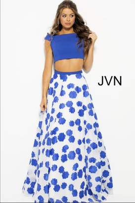 Jovani Floral Two Piece