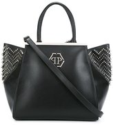 Philipp Plein studded tote - women - Leather - One Size
