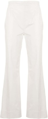 Sofie D'hoore Flared Elasticated-Waist Trousers