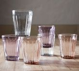 Pottery Barn Colored Tumbler, Set of 4
