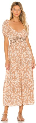 Free People Ellie Printed Maxi Dress