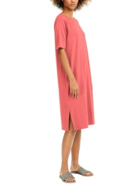 Eileen Fisher Round-Neck T-Shirt Dress