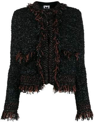 M Missoni fringed tweed jacket