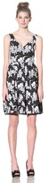 Betsey Johnson Women's Embroidered Floral Dress