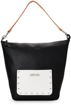 Kenneth Cole Reaction Black & White Ranchero Hobo