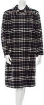 Burberry Wool Plaid Coat