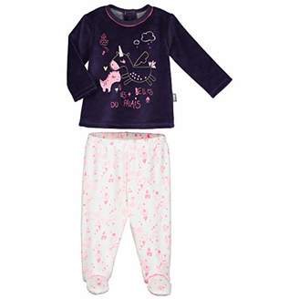 Camilla And Marc Baby Velour Pyjamas with Feet Lili - Size 12 Months (80 cm)
