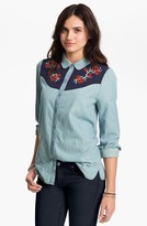 Rubbish Embroidered Western Shirt (Juniors)