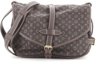 Louis Vuitton Saumur Handbag Mini Lin 30