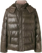 Loro Piana detachable sleeves and hood jacket