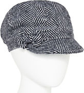 August Hat Co. Inc. August Hat Co. Herringbone Newsboy Hat with Bow