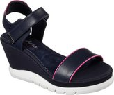 Skechers Women's New Wave Modern Mama Ankle Strap Wedge Sandal Size 7 M