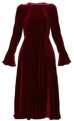 Burgundy Velvet Dress Shopstyle Uk