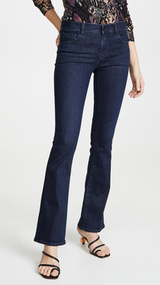 J Brand Sallie Mid Rise Bootcut Jeans