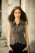 Milla Faux Leather Vest