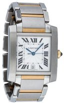 Cartier Tank Française Automatic Watch 2302