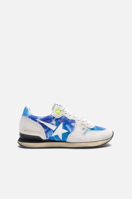 Golden Goose Tie Dye Running Sneakers
