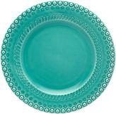 One Kings Lane Fantasy Dinner Plate, Turquoise