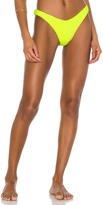 Luli Fama High Leg Brazilian Bikini Bottom