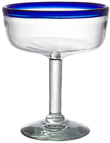 John Lewis Alfresco Recycled Glass Margarita Glass, Blue