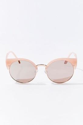 Forever 21 Half-Rim Frame Sunglasses