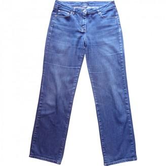 Loewe Blue Cotton - elasthane Jeans for Women Vintage