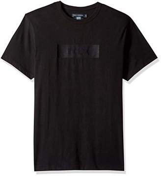 French Connection Men's Short Sleeve Crew Neck Slogan Cotton T-Shirt