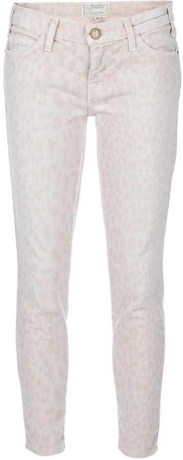 Current/Elliott Leopard print jean