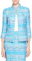 St. John Imani Tweed Knit Jacket