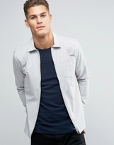 Jack and Jones Slim Zip Shacket