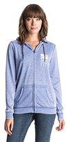 Roxy Junior's Tropical Bazaar Desert Days Full Zip Fleece Sweater