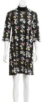 Suno Patterned Knee-Length Dress w/ Tags
