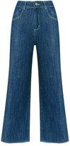 Lilly Sarti - denim culotte jeans - women - Cotton - 36